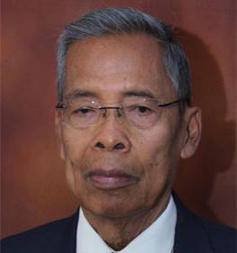 Jend TNI (Purn) Surjadi Soedirdja (Ketua Pembina)