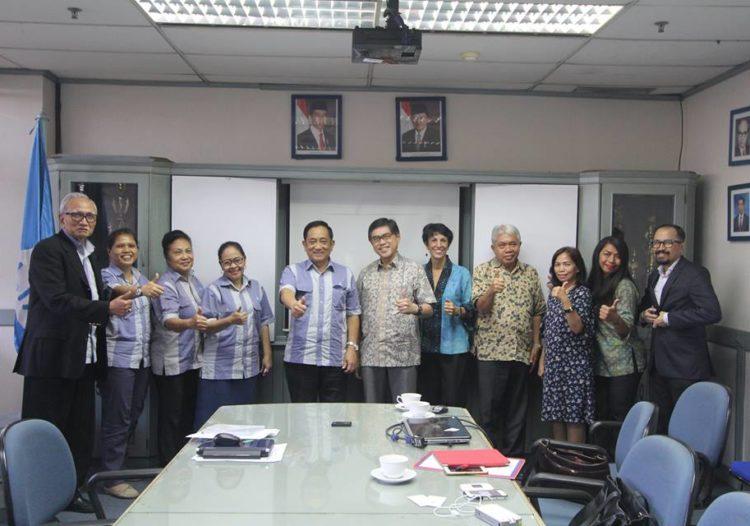 Pertemuan Ketua Pengurus PPIA dengan Ketua Pengurus Yayasan LIA