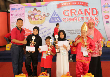 LIA Grand Competition 2017 Reach The Top