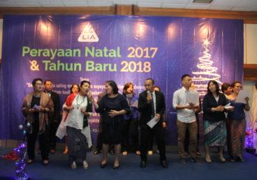 Perayaan Natal 2017 dan Tahun Baru 2018 LIA