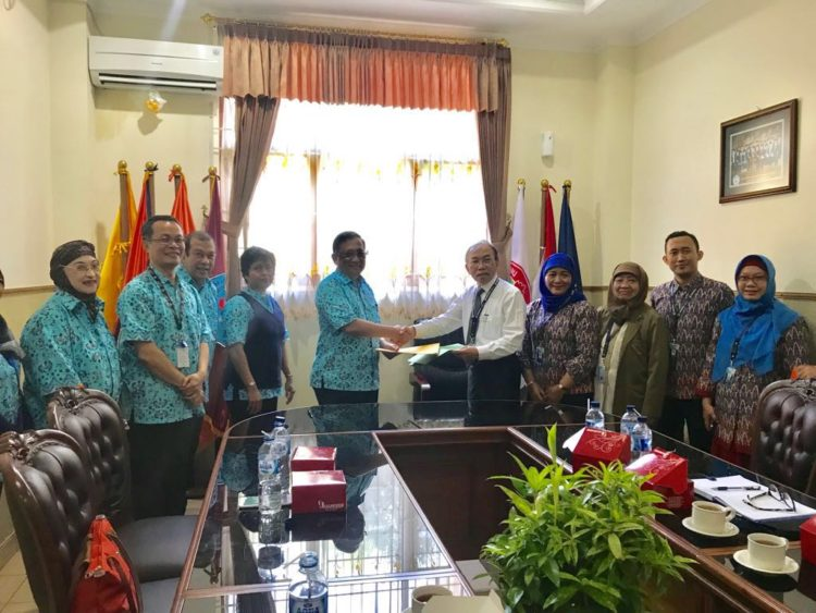 Penandatanganan MoU antara Yayasan LIA dengan Universitas Indraprasta (UNINDRA)