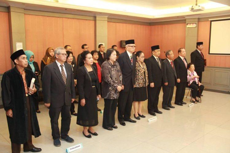 Pelantikan dan Pengambilan Sumpah Jabatan serta Serah Terima Jabatan Bendahara Pengurus Yayasan LIA