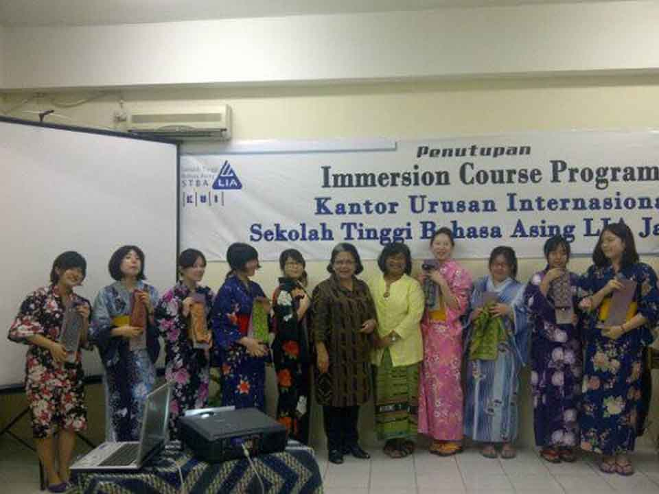 Immersion Course Program