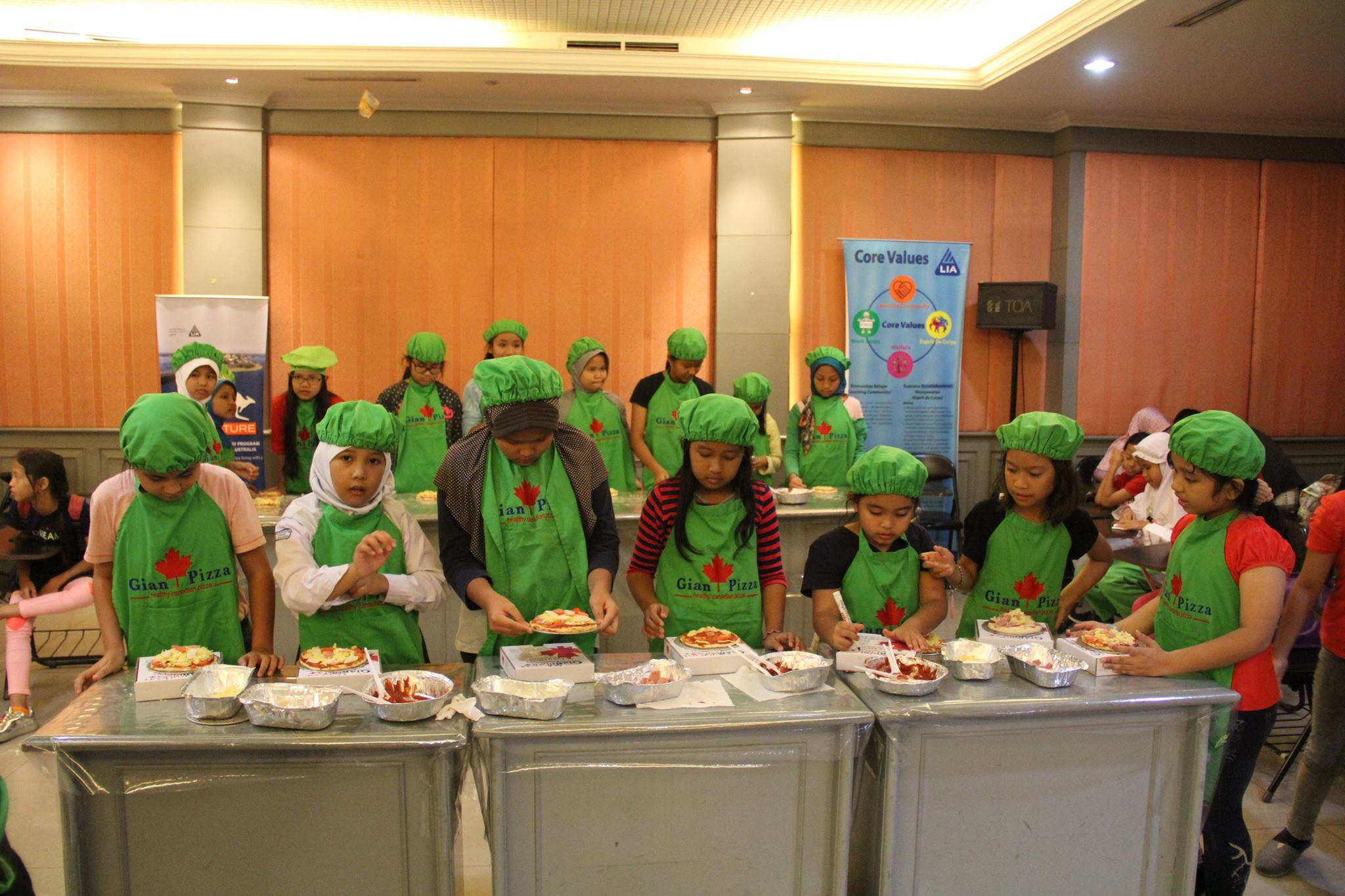 LIA Pengadegan Kid's Cooking Class