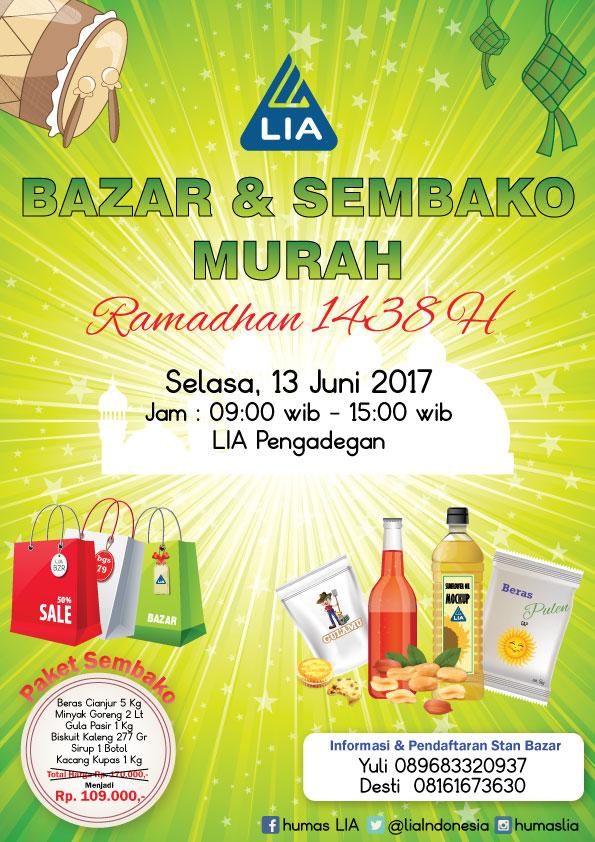 LIA Bazar Ramadhan 1438 H
