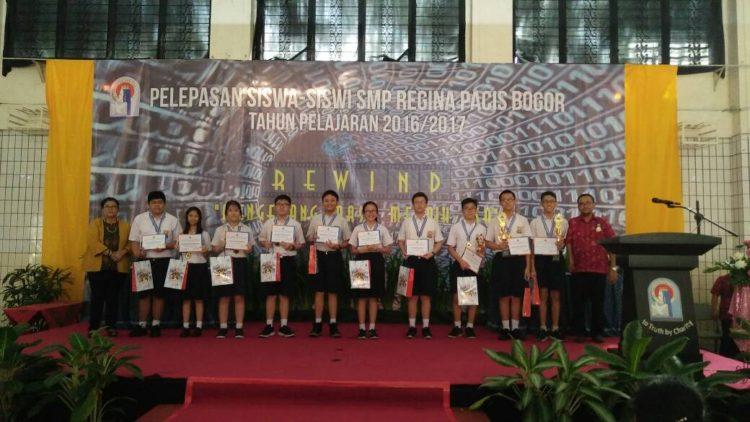Program intrakurikuler LB LIA Pajajaran Bogor di sekolah Regina Pacis.