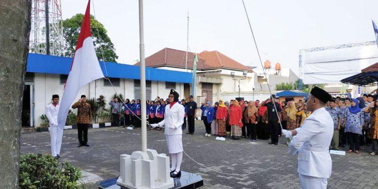 Upacara peringatan Hari Proklamasi Kemerdekaan Republik Indonesia yang ke 73
