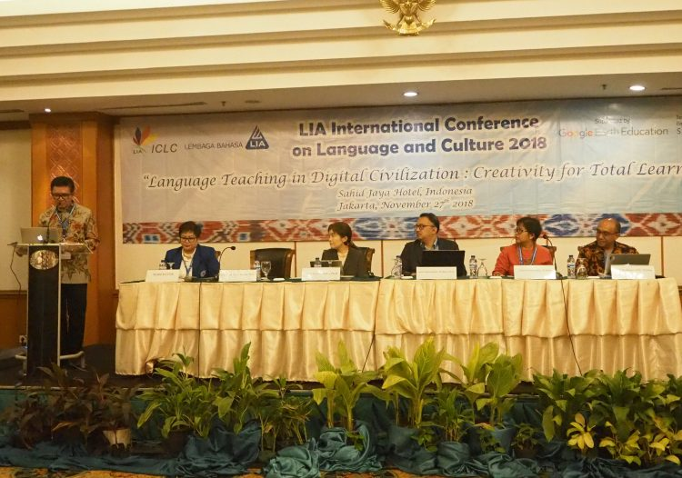LIA International Conference on Language and Culture 2018